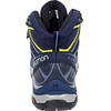 Salomon X Ultra 3 GTX Mid Hiking Shoes Women Crown Blue/Evening Blue/Sunny Lime